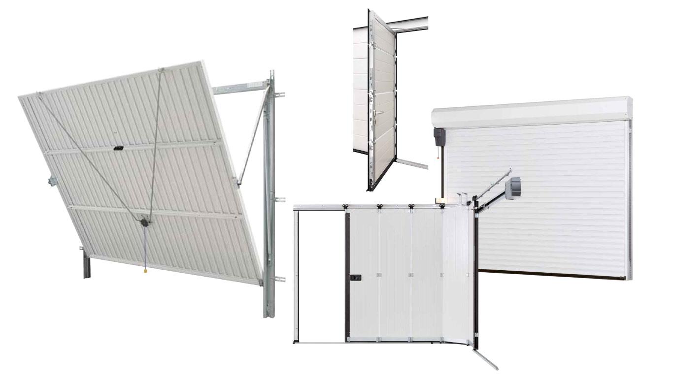 porte de garage ouverture sectionnelle ou basculante. Black Bedroom Furniture Sets. Home Design Ideas