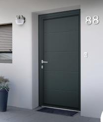 Les avantages d'une portes d'entrée en aluminium